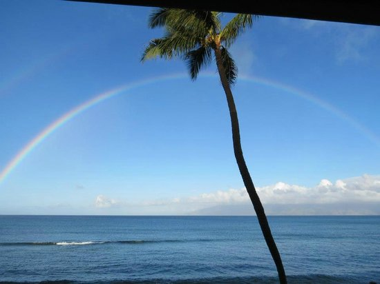 Kaleialoha Condominiums: Stunning view from lanai