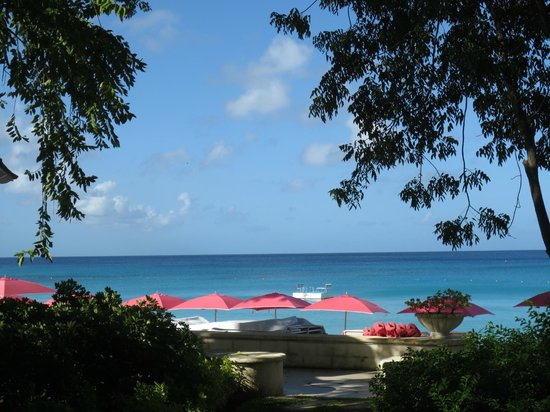 Sandy Lane Hotel: What a view