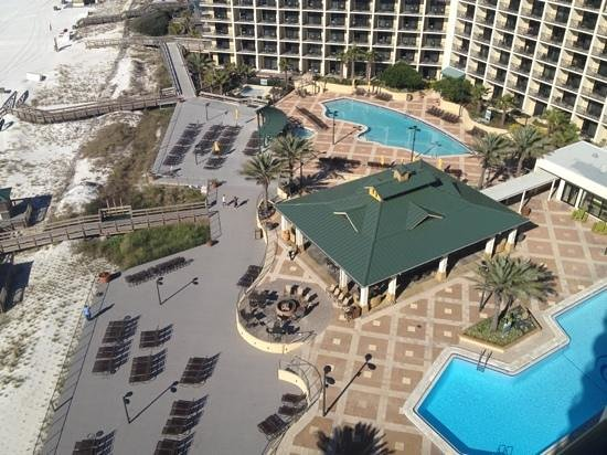 Hilton Sandestin Beach, Golf Resort & Spa: outdoor reception option