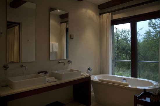 Kapama River Lodge: Spa suite, bagno