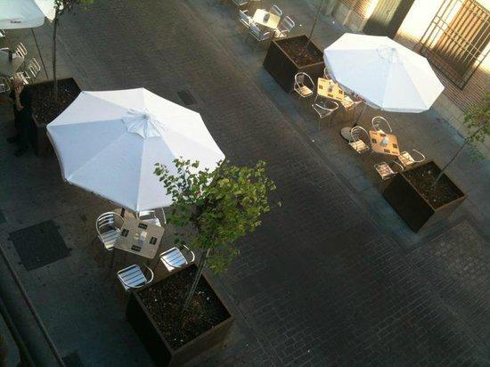 El Reloj Cafe Bar : terraza