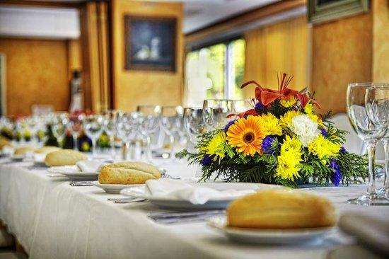 Hotel San Cristobal: Detalle montaje mesa