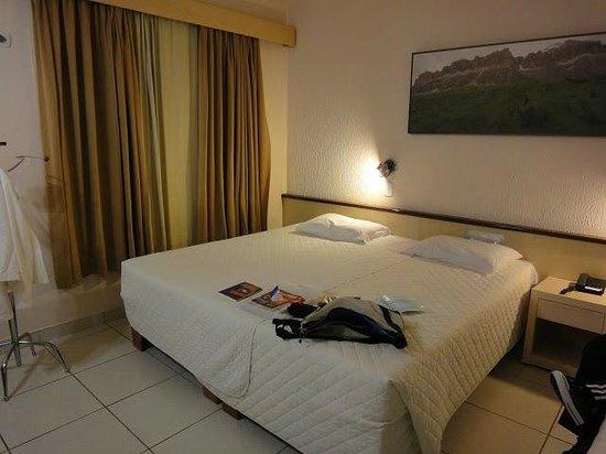 Aguas do Iguacu Hotel Centro: Apto 510: espaçoso e prático