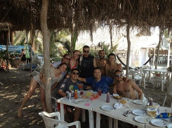Stone Island (Isla de las Piedras): la familia Df en mazatlan !!