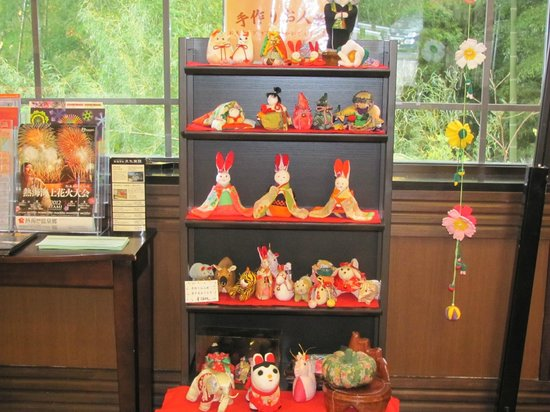 Atami Hotel Paipuno Kemuri : お雛様が飾ってありました。