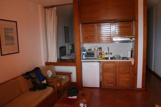 Dom Pedro Lagos: De kamer van het appartement.