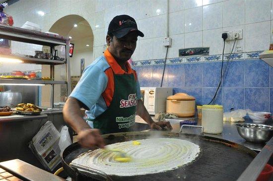 Sri Brinchang : Making the Paper Thosai