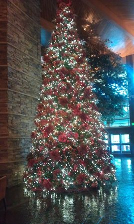 Pechanga Resort and Casino: One of a dozen decorated trees in the casino/resort