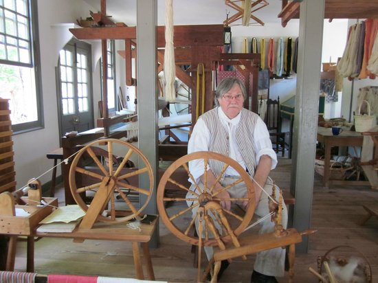 Colonial Williamsburg: Max The Weaver
