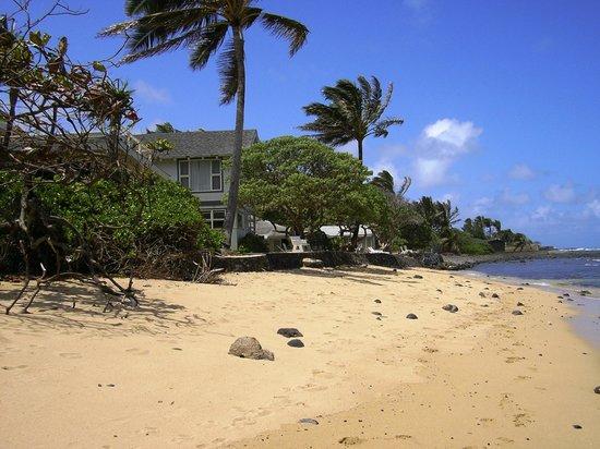 Hale Ko'olau : Beach in front of properties