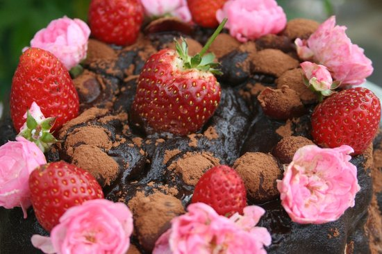 Tarbena, Hiszpania: Chocolade taart