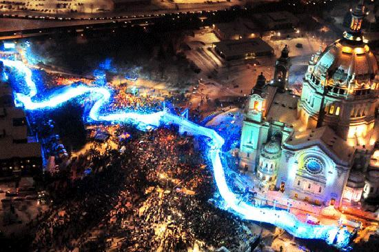 Minneapolis, MN: Red Bull Crashed Ice World Championships Saint Paul