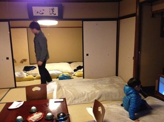 Inn Kawashima: huge room