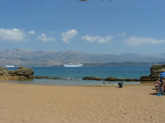 Lixouri, Grecia: the beach
