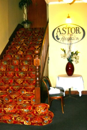 Astor Private Hotel: Hotel entrance