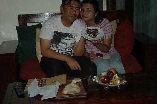 The Bali Dream Suite Villa Seminyak : Last min anniversary