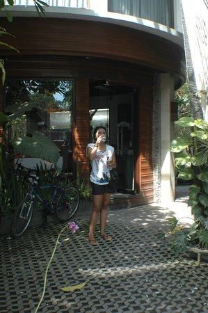 The Bali Dream Suite Villa Seminyak : Breakfast
