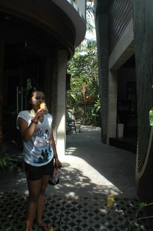 Bali Dream Suite Villa: reception