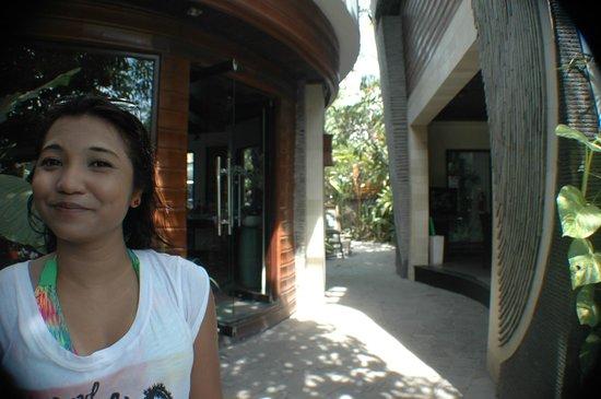 The Bali Dream Suite Villa: The reception