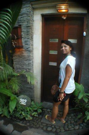 The Bali Dream Suite Villa: front door