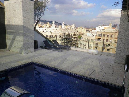 Suites Avenue : Vue de la Piscine sur le toit