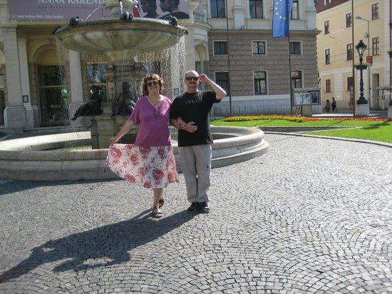 Bratislava, Slovakia: Theatre square