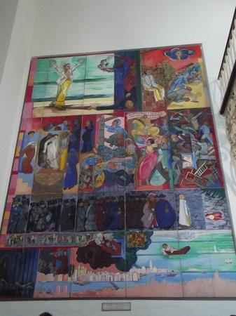 Pernambuco House of Culture: Mural