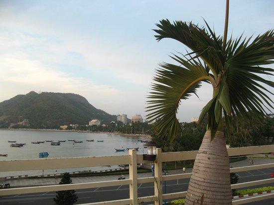 Vung Tau P&T Hotel: Uitzicht zwembad
