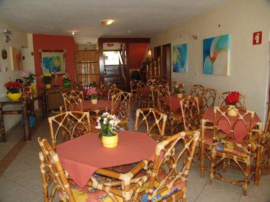 Pousada Casa na Praia: Salão de Café da Manhã