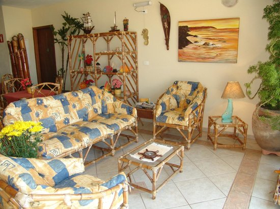Pousada Casa na Praia: Sala de Estar