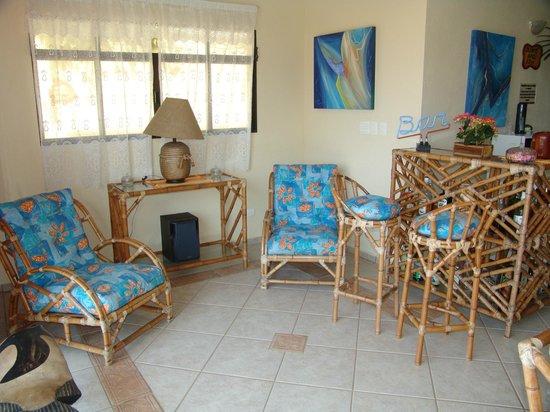Pousada Casa na Praia: Sala