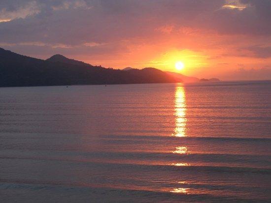 Pousada Casa na Praia: Por do Sol