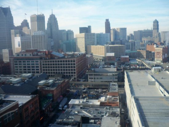 Greektown Casino Hotel:                   View from our room