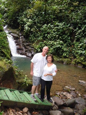 La Selvita: at the waterfalls