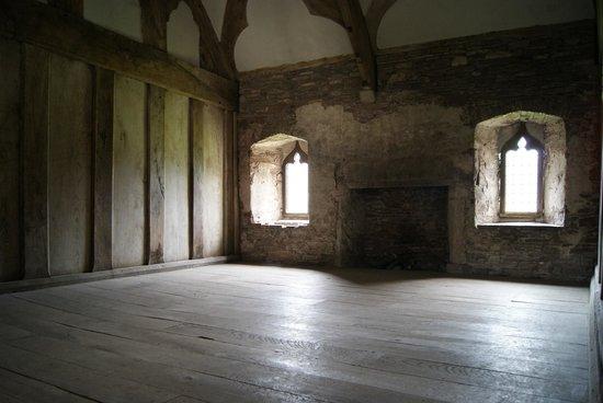 Tretower Castle & Court: Stube