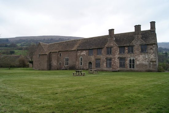 Tretower Castle & Court: Rückseite