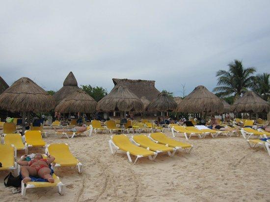 Iberostar Paraiso Maya: Praia