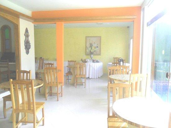 Pousada Vale do Amanhecer: Salão do Café da Manhã