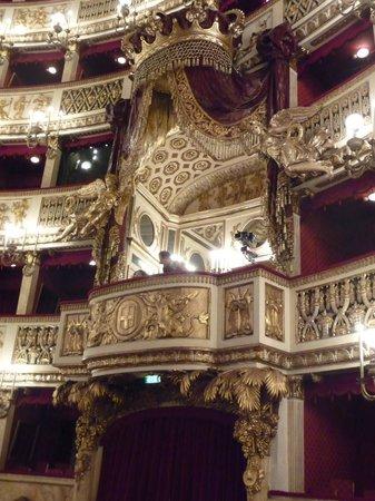 Teatro di San Carlo : Palco d'onore