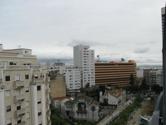 Zenit Lisboa: Vista desde la habitación