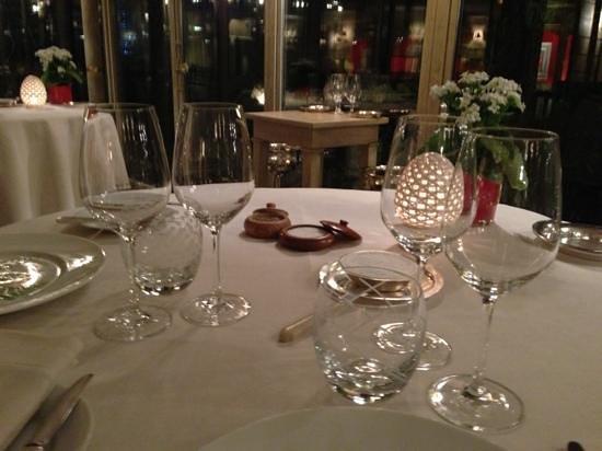 L'Esperance : Table setting