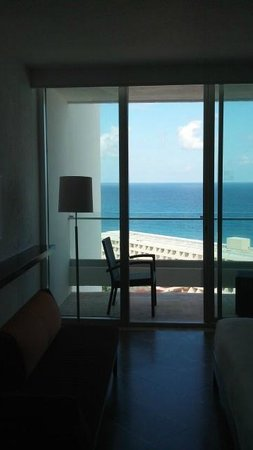 Krystal Grand Punta Cancun: View of Regency Club guest room - Hyatt