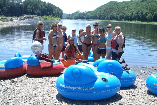 Great River Outfitters And The Path of Life Garden: River Tubing