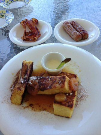 Beach House Turks & Caicos: French Toast - amazing!!!