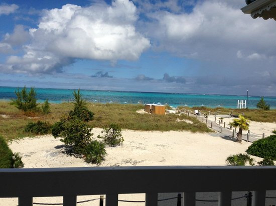 Beach House Turks & Caicos: The view from our balcony