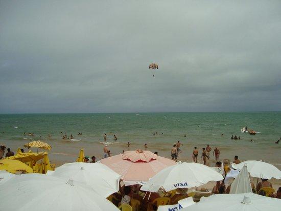 Resort Pau Brasil Praia: Vista da frente do hotel