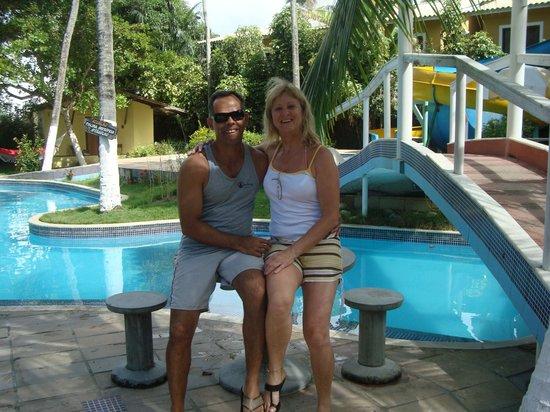Resort Pau Brasil Praia: Piscina
