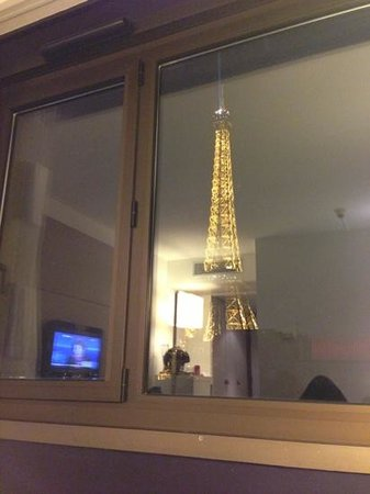 Mercure Paris Centre Tour Eiffel: amazing view