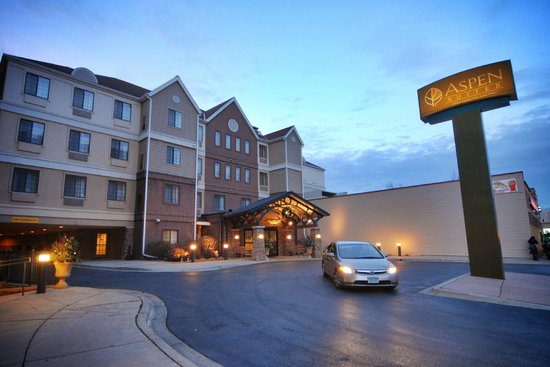 Aspen Suites Rochester: The Aspen Suites - Located directly across from St. Marys