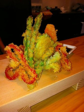 nami: Nuestra tempura